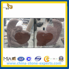 Granite Monument, Headstone, Tombstone for European and Us Market (YYL)