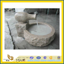 G682 Yellow Granite Garden Water Fountain(YQC)