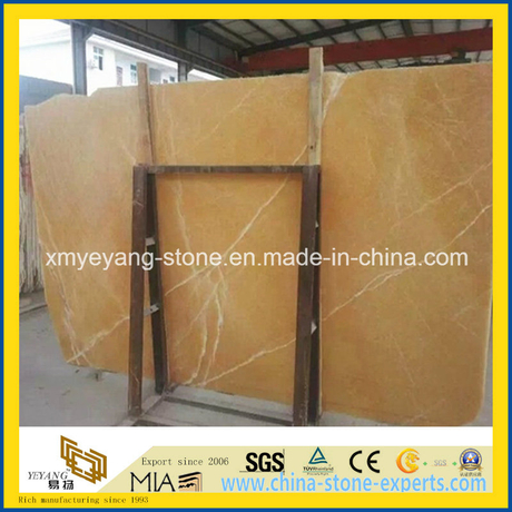 Yellow Onyx Slab for Background Wall Decoration