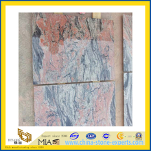 Chinese Red Multicolor Granite Tile for Flooring & Wall