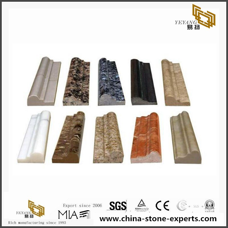 Quarter Round Granite Molding Trim For Project With Cost